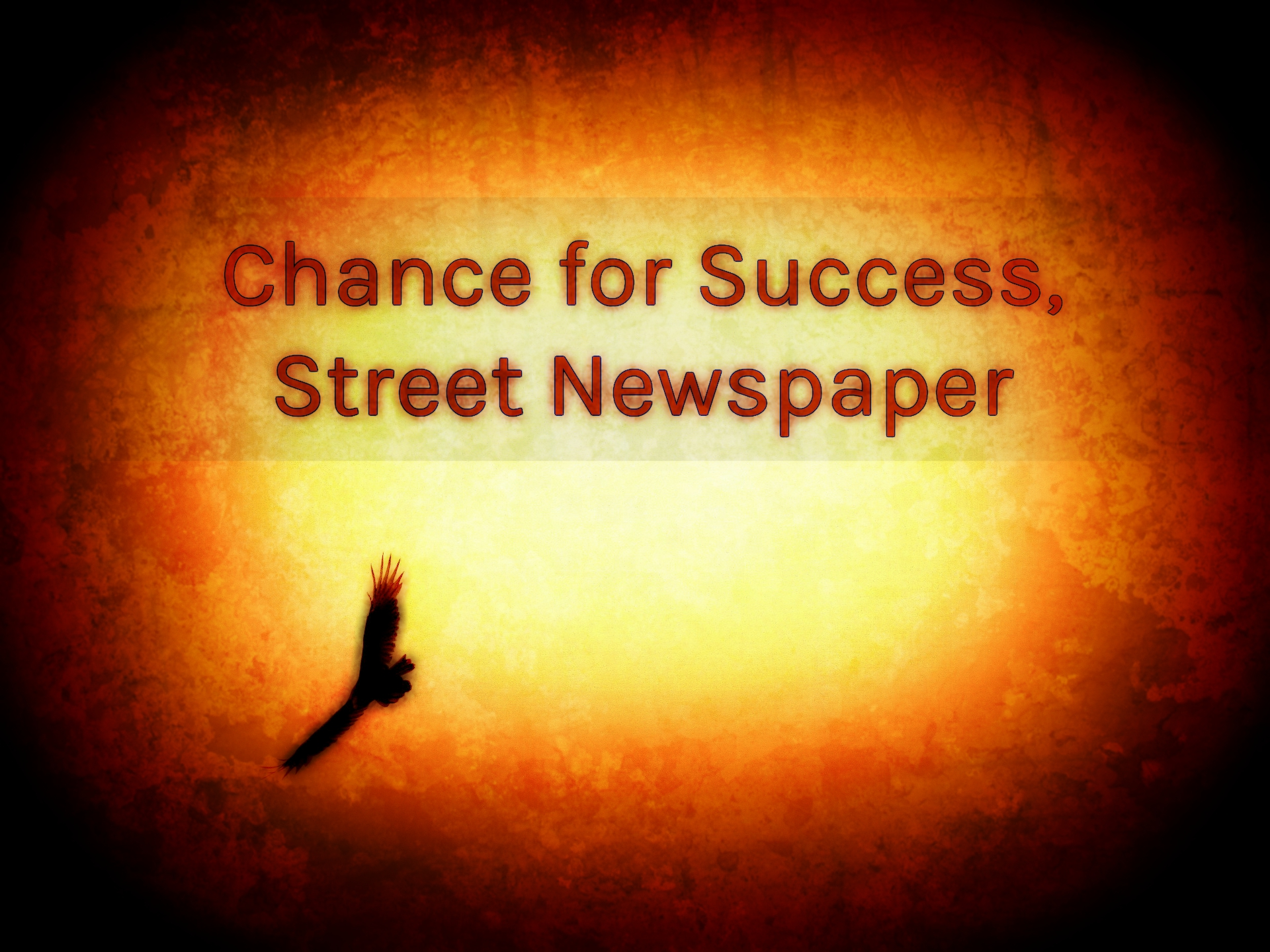 Chance for Success, Street Newspaper